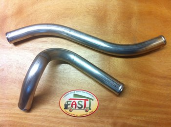 In-Line Conversion Stainless Steel Coolant Extension Pipes