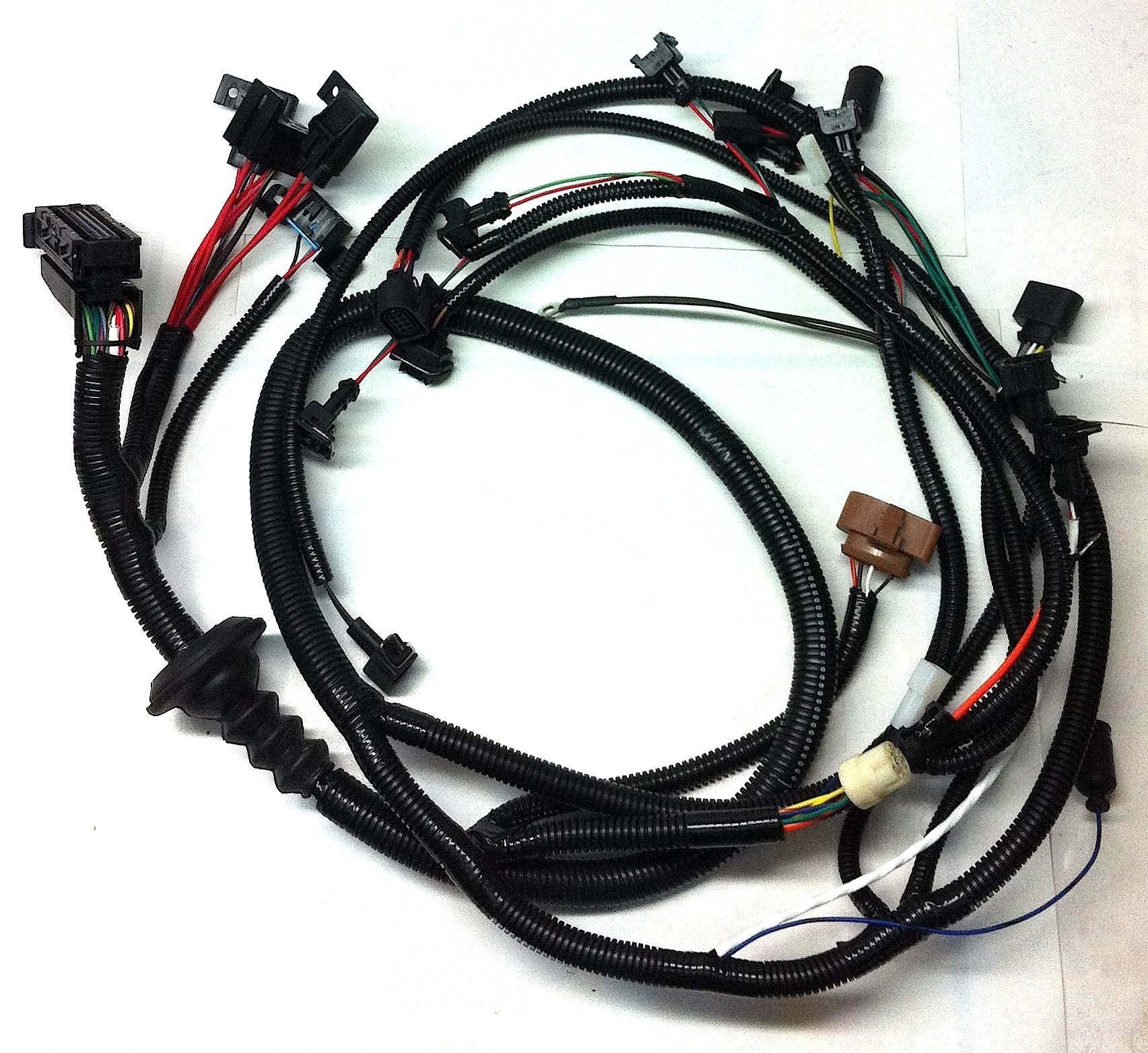 2lr tiico conversion wiring harness foreign auto supply inc rh foreignautosupply com Spark Plug Wire Looms Auto Wire Loom
